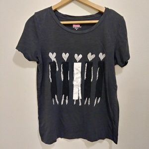 J.crew donald shap people gray tee